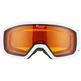 Alpina Scarabeo Doubleflex S2 Goggles Kids white